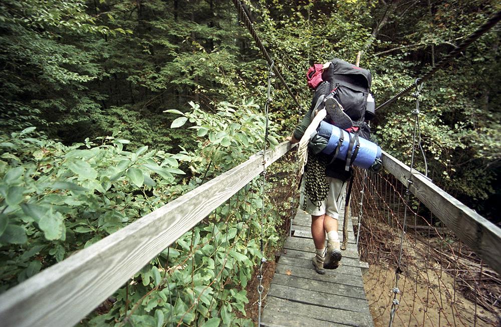 092103 backpacking bridge