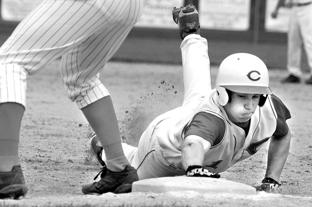 5-14 corbin baseball slide