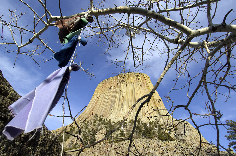 (5/4/08) - (Devils Tower)Devil's Tower National Monument.(Nikki Fox)
