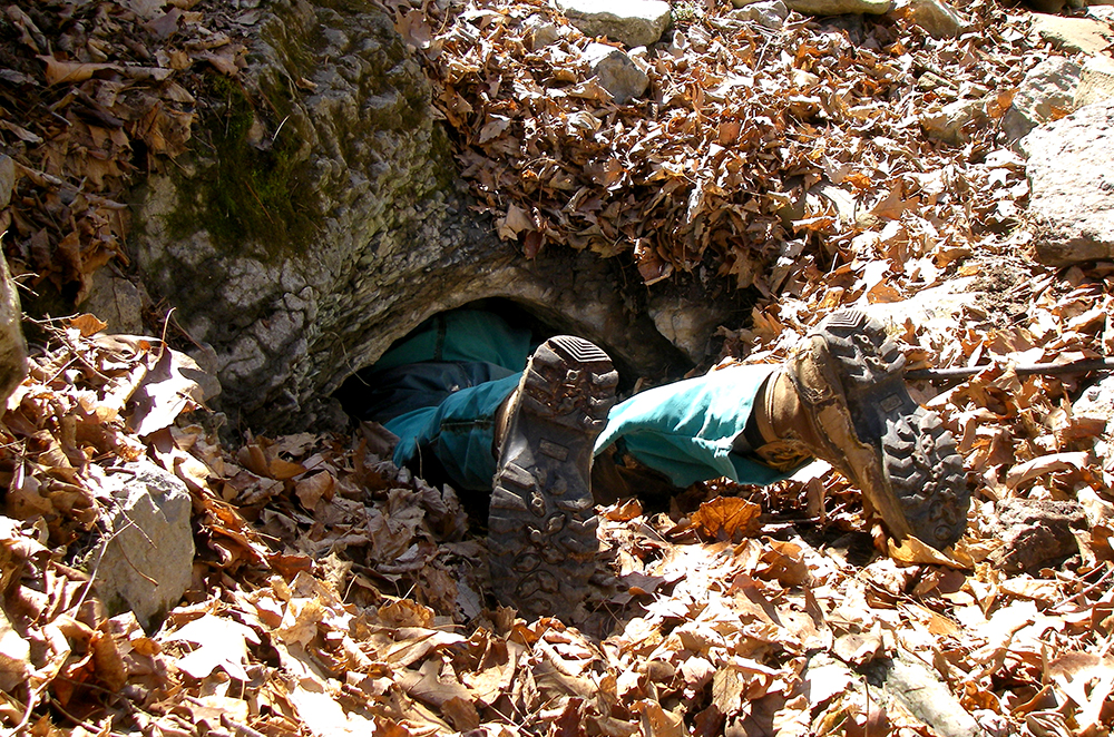 Ruddle Cave Dig