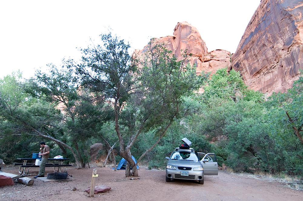 Colorado River Campsite