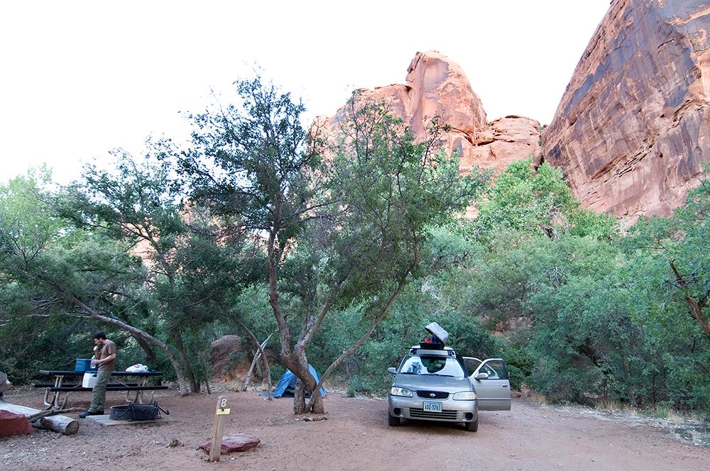 Colorado River Campsite